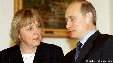 Vladimir Putin and Angela Merkel: Through good times and bad