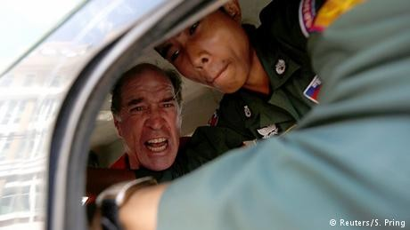 Australian film-maker James Ricketson sentenced to six years' jail in Cambodia