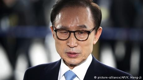 Korea ex-president jailed for 15 years over corruption