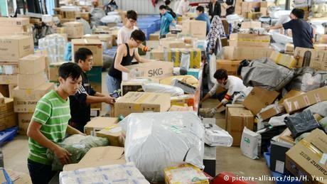 China's economy takes a hit; growth lowest since 2009