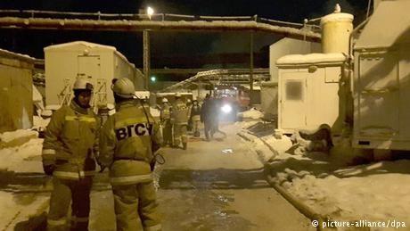 Russia potash mine fire kills nine workers