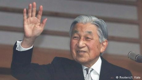 75,000 birthday wishes for departing emperor