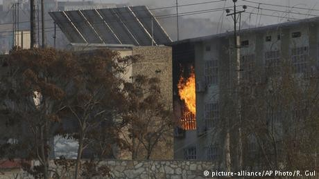 Multiple deaths in Kabul, Afghanistan after militant attack on government compound