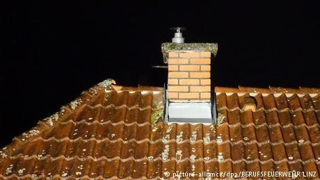 Teen gets stuck in chimney while 'playing Santa' in Austria