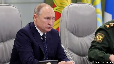 Russia's President Vladimir Putin ready to deploy new Avangard hypersonic missiles
