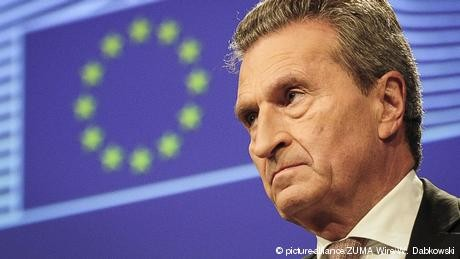 Messy Brexit would cost Germany, says EU's Günther Oettinger