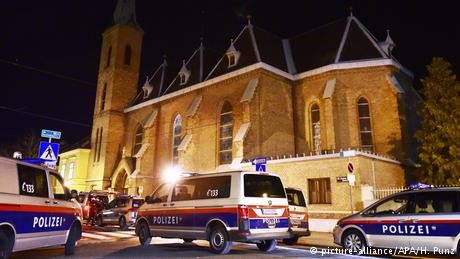 Austria: Monks assaulted at Vienna church in apparent robbery