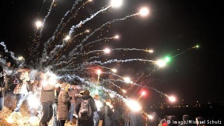 Germany's New Years Eve fireworks ruining air quality