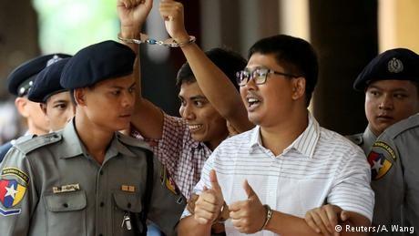 Reuters journalists lose appeal of 7-year sentence in Myanmar
