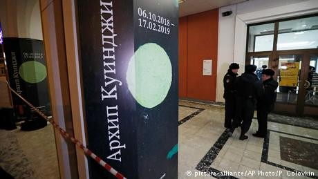 Russian police find stolen painting, detain suspected thief