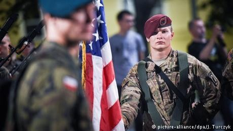 Pentagon: No US troop buildup in Poland 'at this point'