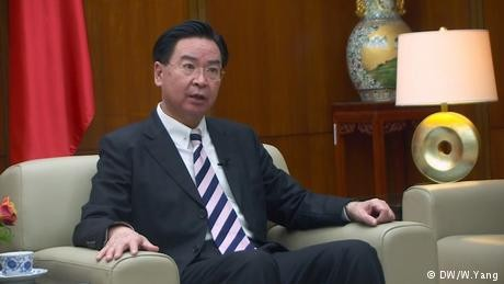 Taiwan foreign minister: reunification with China 'not an option'