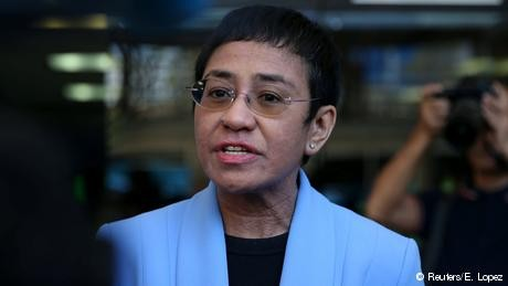 Rappler's Maria Ressa: Duterte government 'weaponizing' information and law