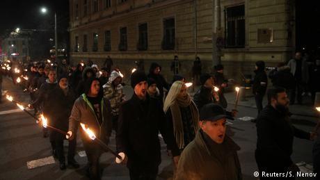 Far-right march in Sofia to honor pro-Nazi general