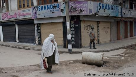 Kashmir residents stage shutdown after suicide bombing