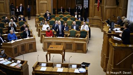 Danish MP with baby ordered out of parliament by speaker