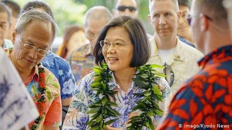 Why did Taiwan's Tsai Ing-wen ask for US arms during Hawaii visit?