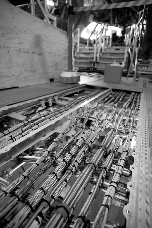 Electrical wiring is seen inside the Airbus A380 on its production line at the Airbus   factory in Toulouse, France in June 2006. Faulty wiring is the...