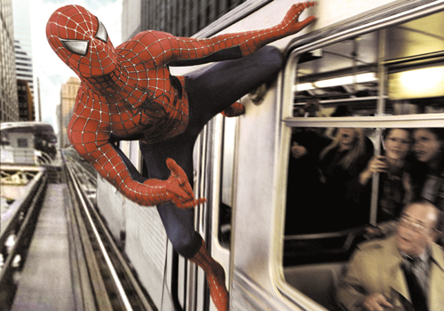 """Tobey Maguire as Peter Parker/ Spider-Man, in """"Spider-Man 2."""" Hollywood stunt performers lost work to digital effects as more filmmakers use computer ..."""