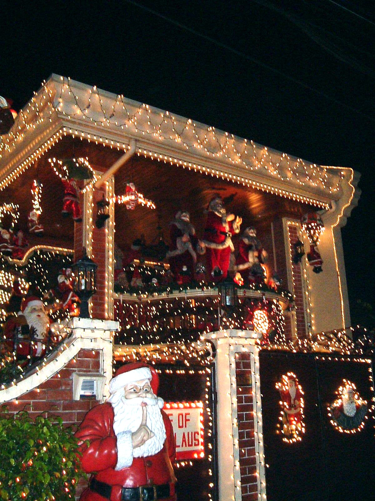 House of Santa Claus belongs to Anthony Suva, the barangay captain and leader of the action team on Policarpio Street.