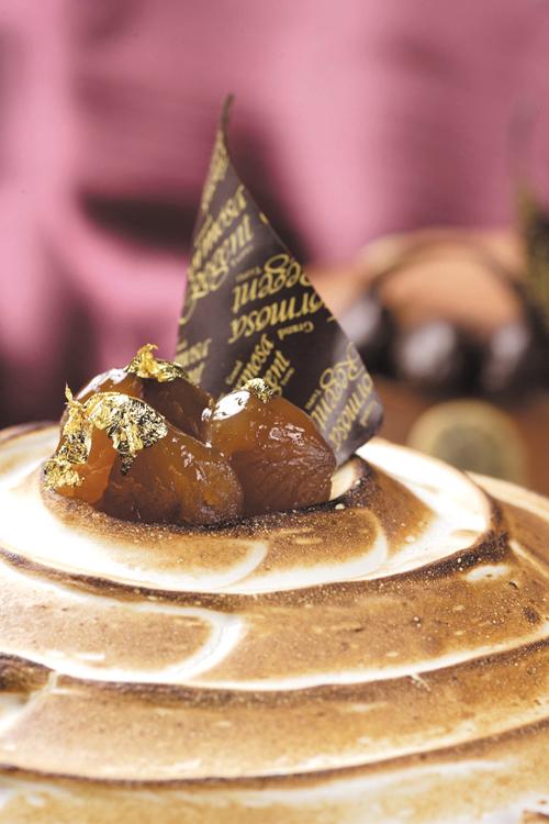 Regent presents Chestnut Desserts.