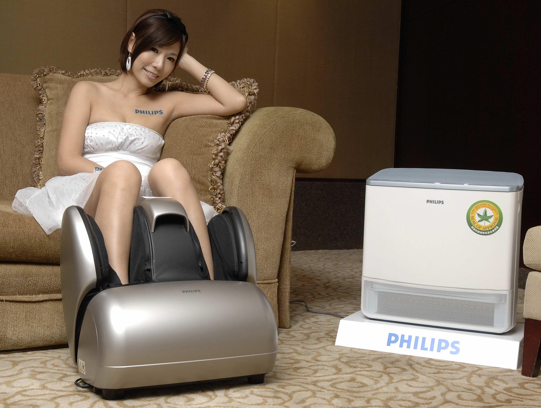 空氣清淨機與健康美腿曲線機