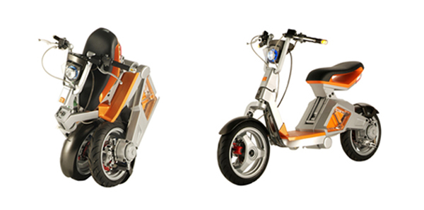 The Robot Scooter