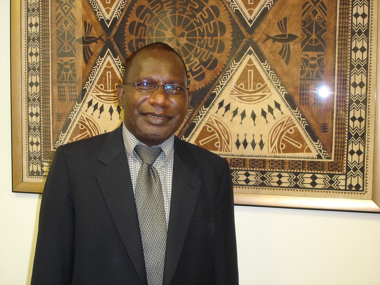 Beraki Jino, Solomon Islands ambassador