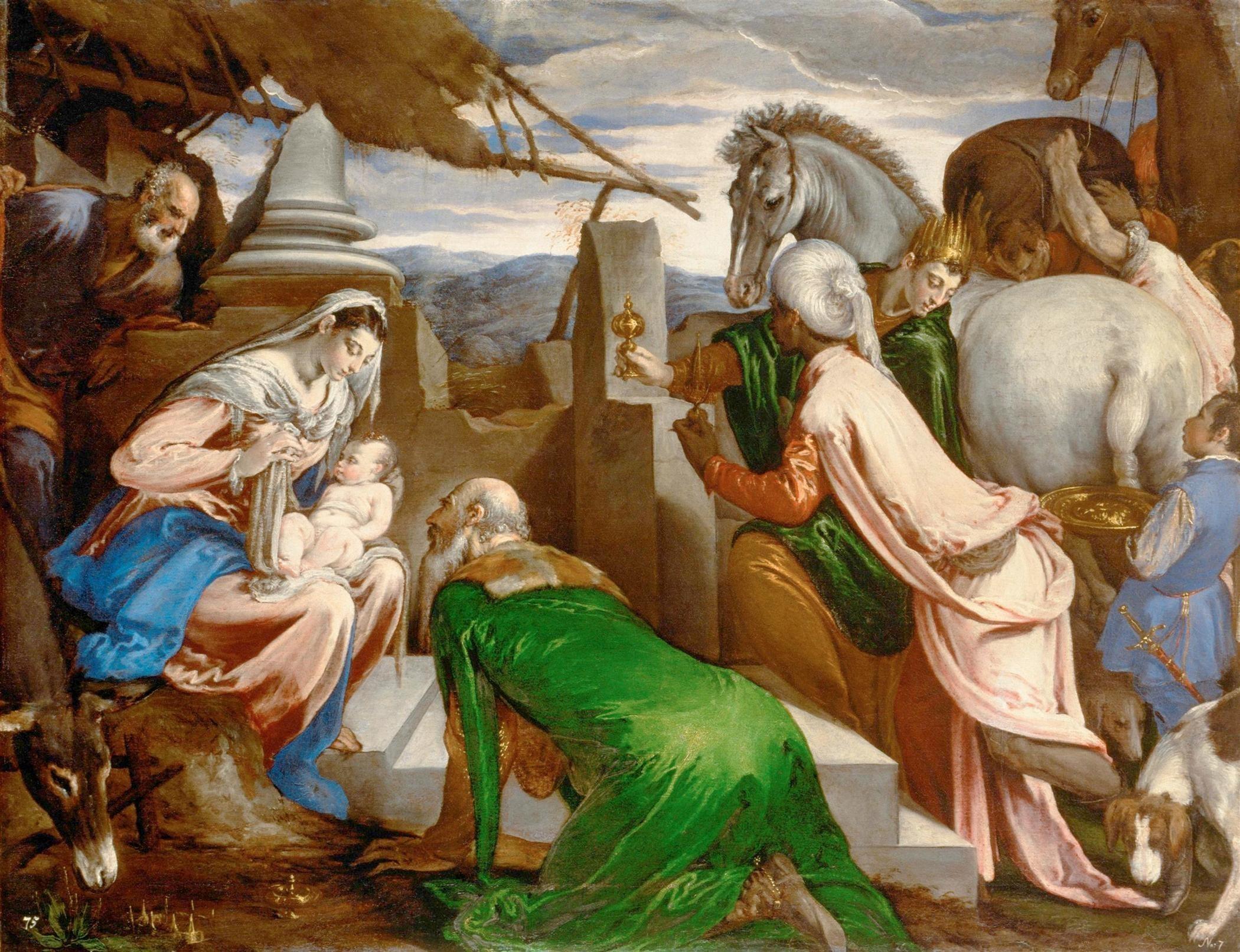 """Bassano's """"Adoration of the Magi"""""""