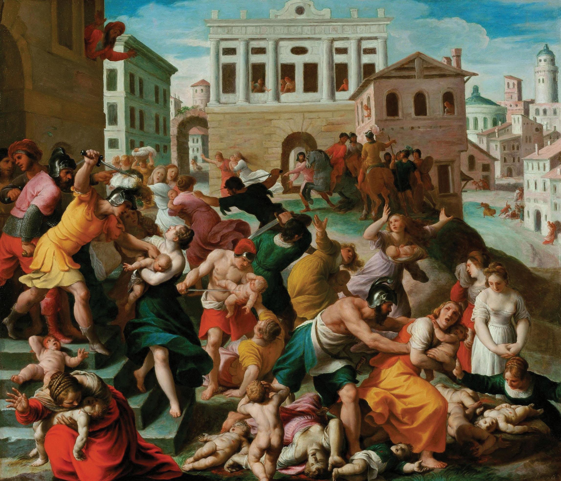 "Turchi's ""Slaughter of Innocents in Bethlehem"""