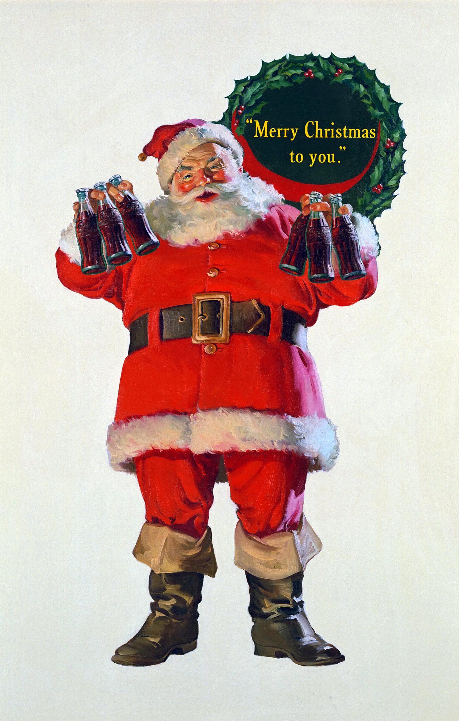 Origin of Santa's Image