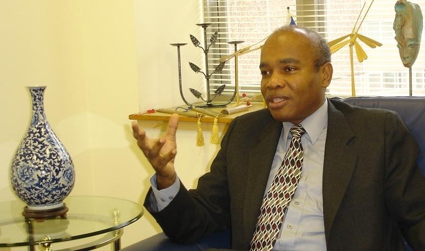 Raymond Perodin, ambassador of Republic of Haiti