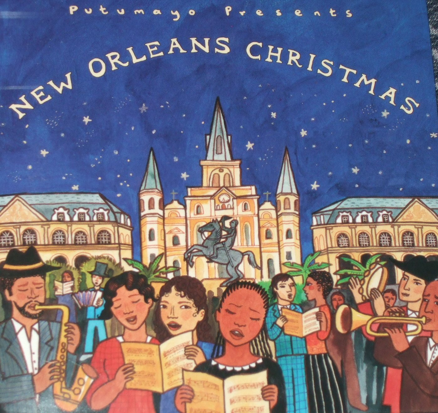 """""""New Orleans Christmas"""" helps deck the hall with soul, jazz, and blues holiday classics from the Big Easy."""