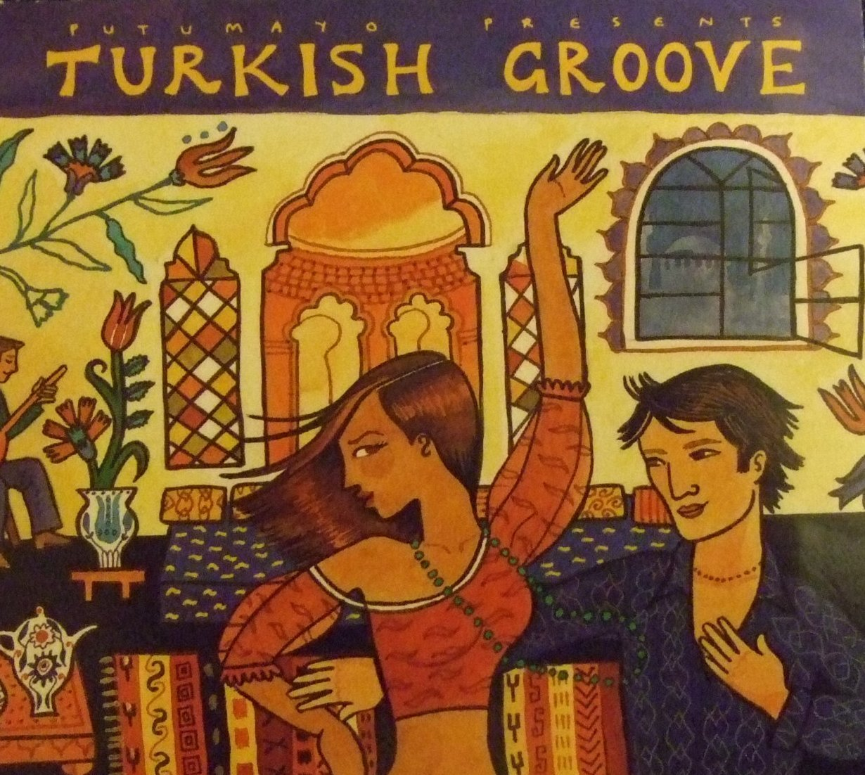 """""""Turkish Groove"""" offers a musical mosaic of Balkan, Central Asian, and Middle Eastern flavors mixed with sophisticated global pop and dance music."""