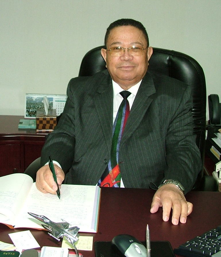 Petrus Meyer, representative of the Liaison Office of South Africa in Taipei