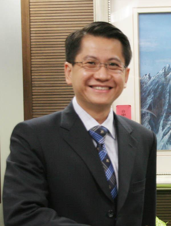 Stanley Loh, representative of the Singapore Trade Office in Taipei