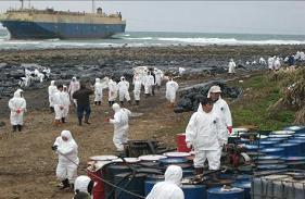 十八王公外海貨輪擱淺  除油作業15天完成