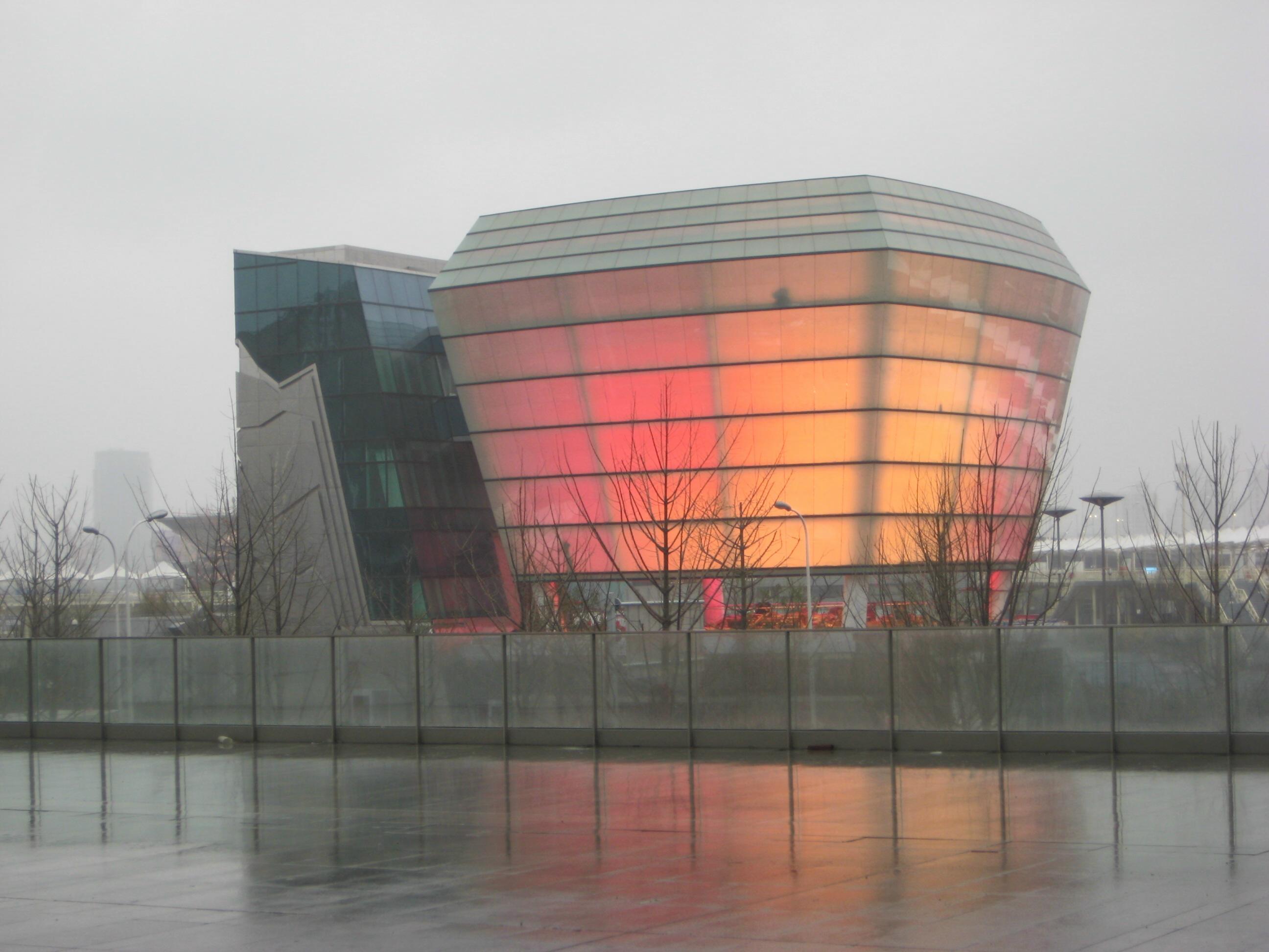 2101世界博覽會台灣館,經過工作團隊的努力,展館實際興建進度超過預期,3/31日正式宣告竣工。