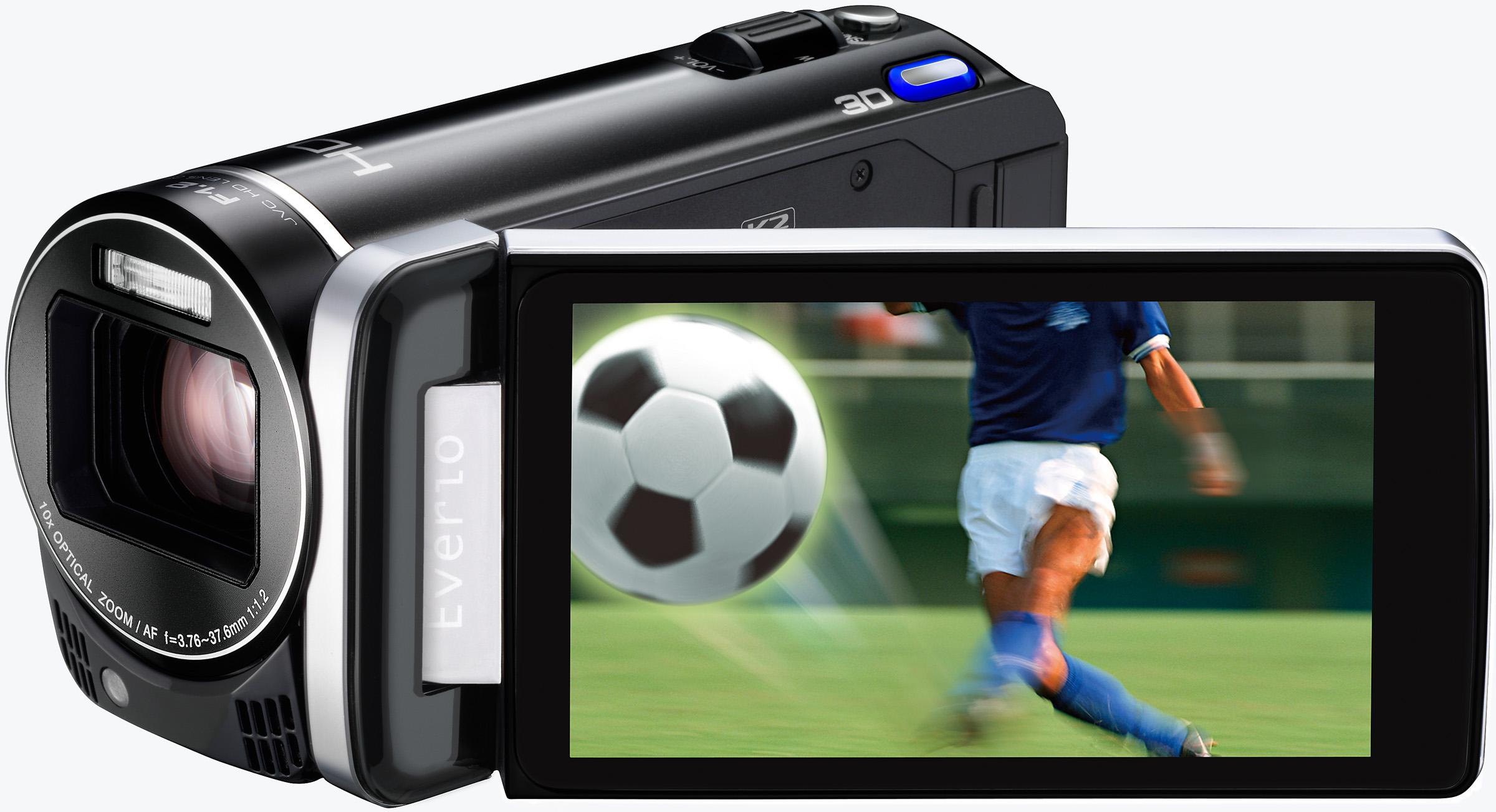 JVC全球首創第一部家用FULL HD高畫質3D攝影機  GS-TD1