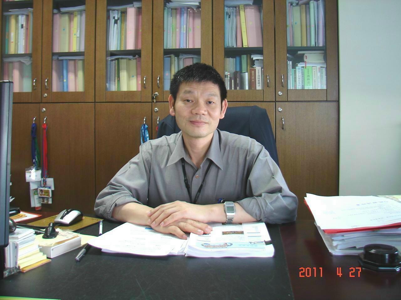 內政部消防署副署長兼發言人陳文龍。