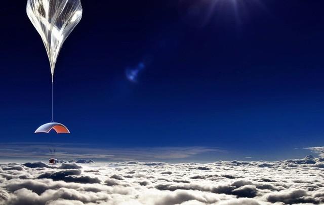 美國有旅行社招攬乘坐3萬米高空氣球,可俯瞰地球弧線,要價不斐。