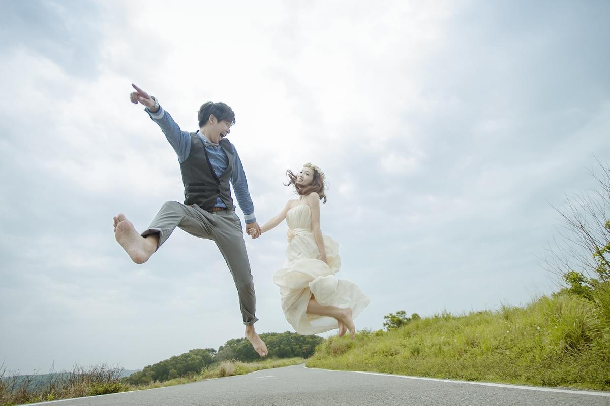 婚紗路跑,心動了嗎?