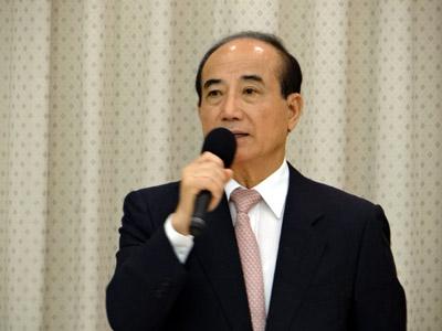 立法院長王金平。(記者邱水文攝影)