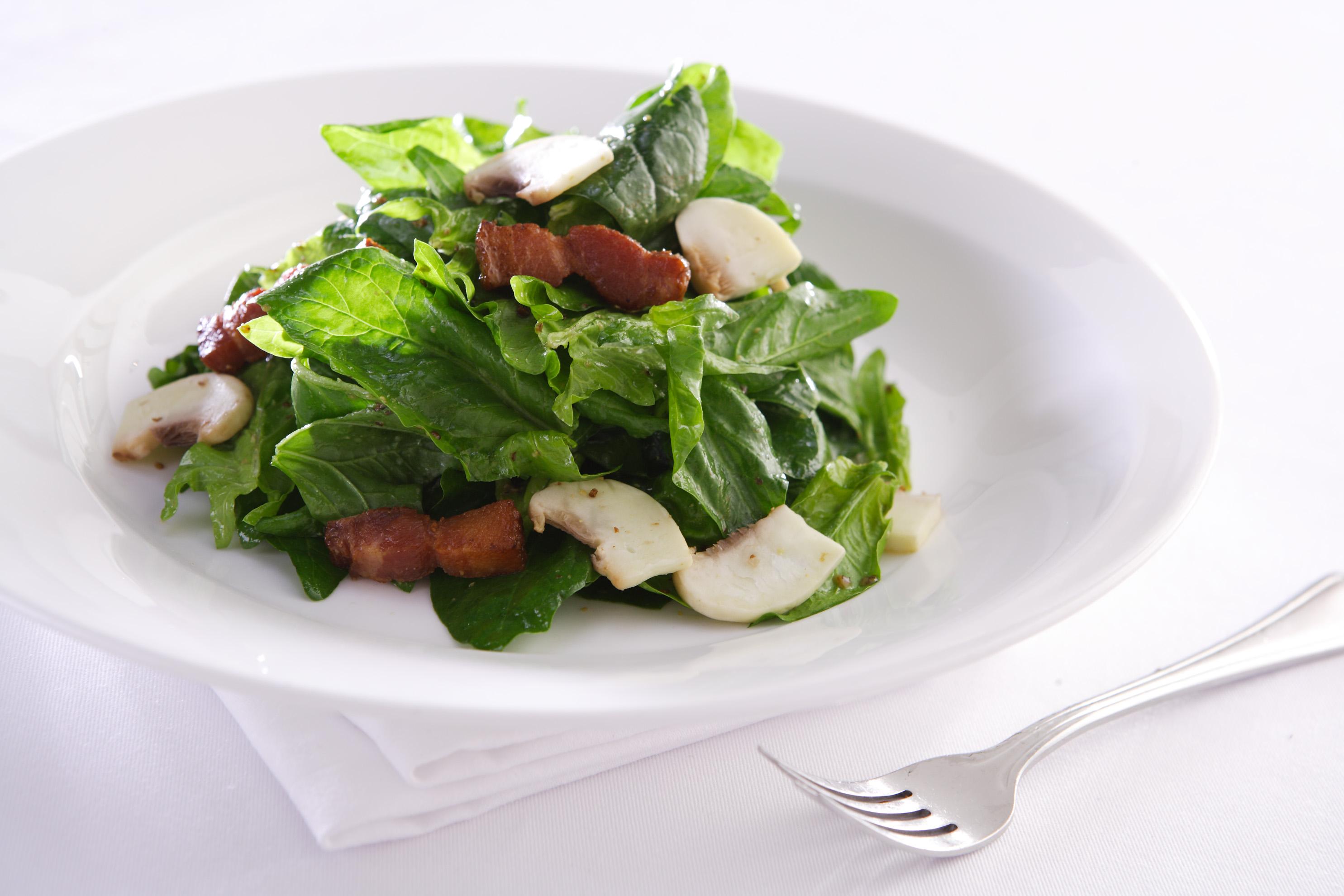 溫菠菜沙拉