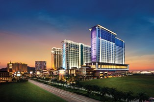 Sheraton Macao Hotel - exterior at night_low