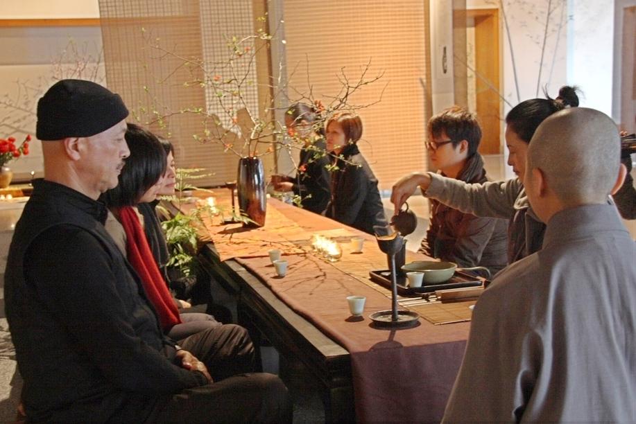 園區-民眾闔家體驗茶禪,享受清淨安定的氛圍