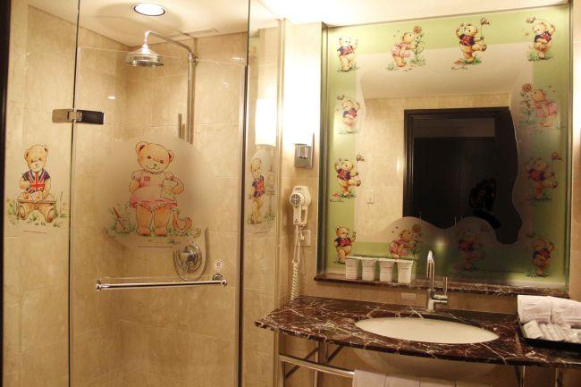 精典泰迪熊主題房-「約會時光」浴室