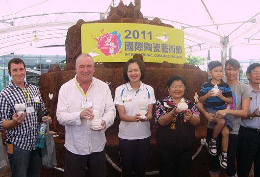「百年風華-2011國際陶瓷藝術節」於昨日 下午揭開序幕。