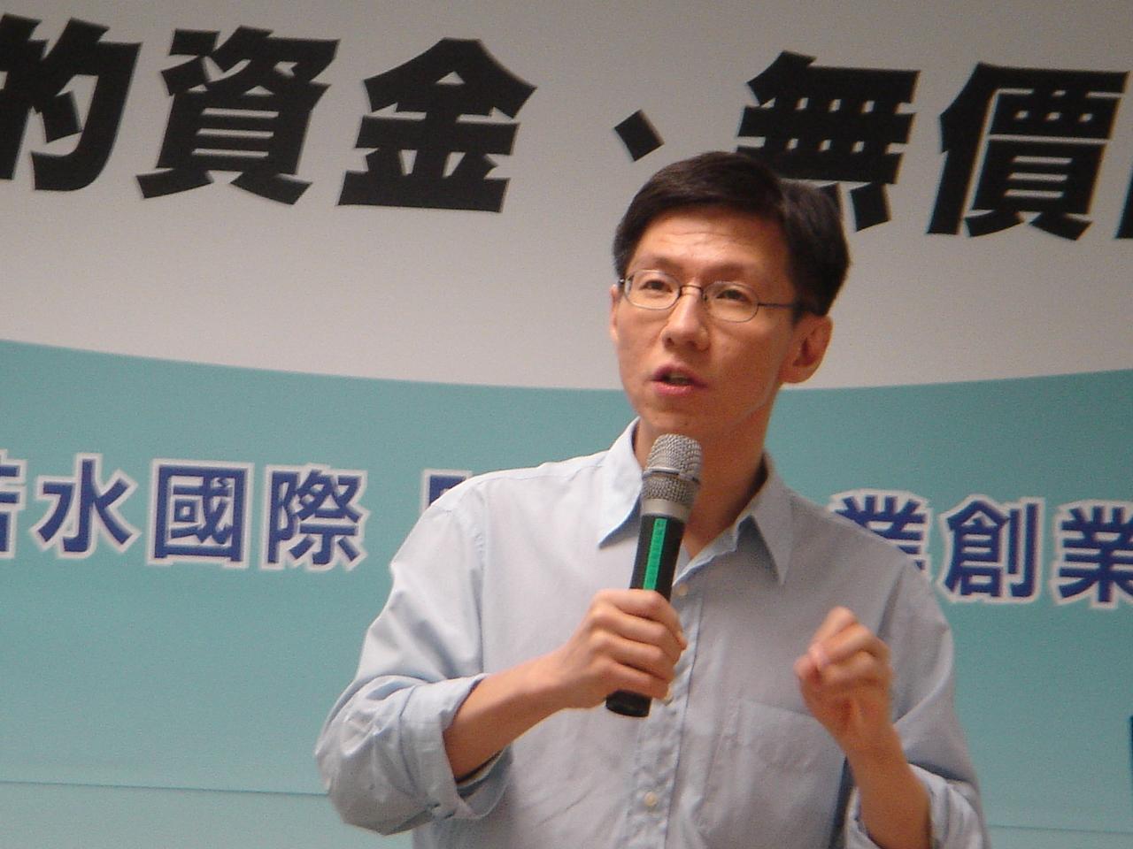 知名暢銷作家王文華講述社會公益的意義