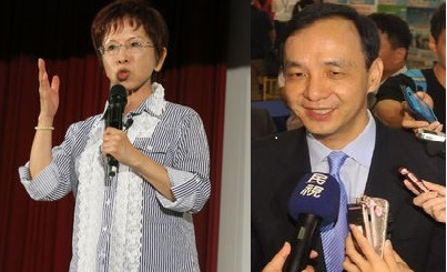 Chu, Hung speak on Soong's presidential bid